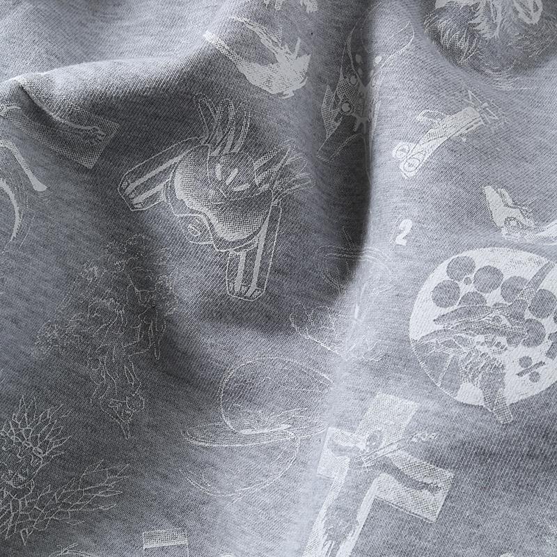 TYPOGRAPHY OF EVA Sweat (グレー)