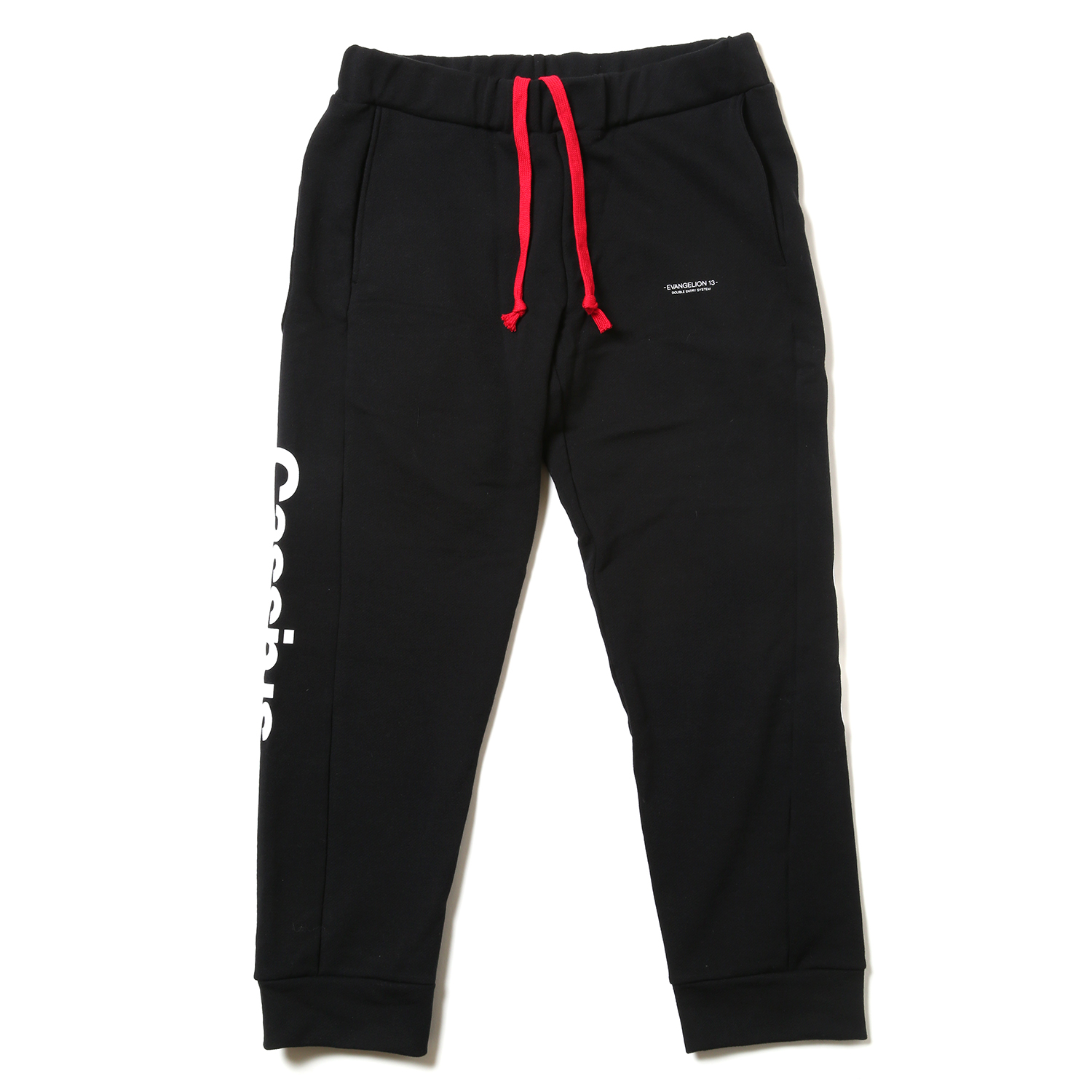 EVANGELION XIII Sweat Pants (ブラック)