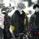 EVANGELION XIII FLANNEL CHECK SHIRTS JKT (ホワイト)