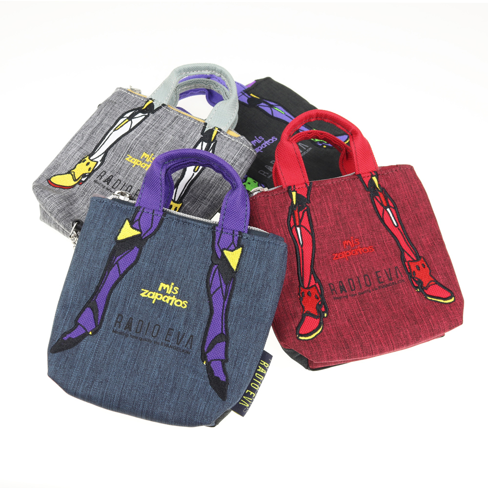 EVANGELION Pass Case Pouch by mis zapatos (グレー(零号機))