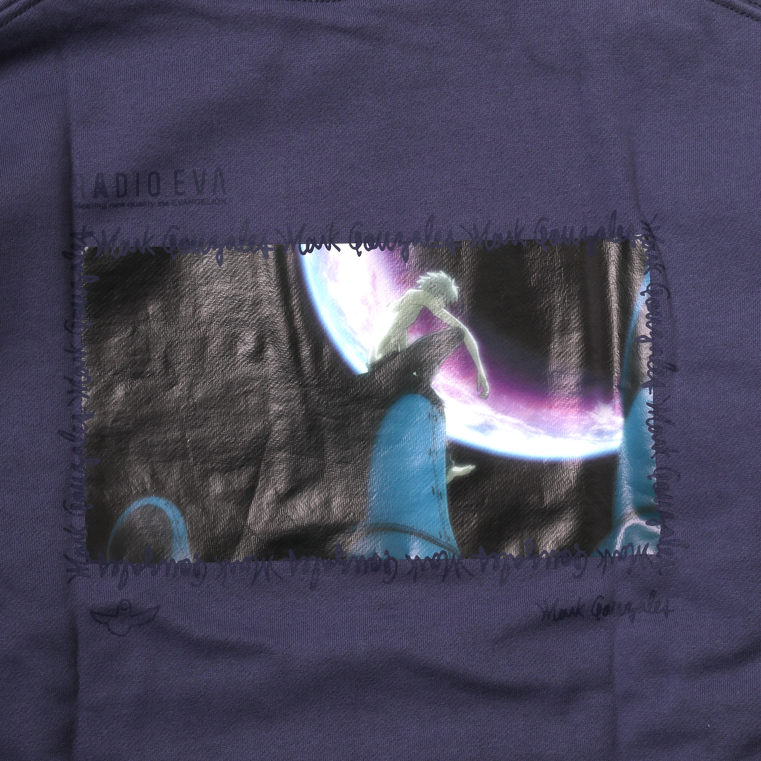 Kaworu Pt. HOODIE by MARK GONZALES (PURPLE)