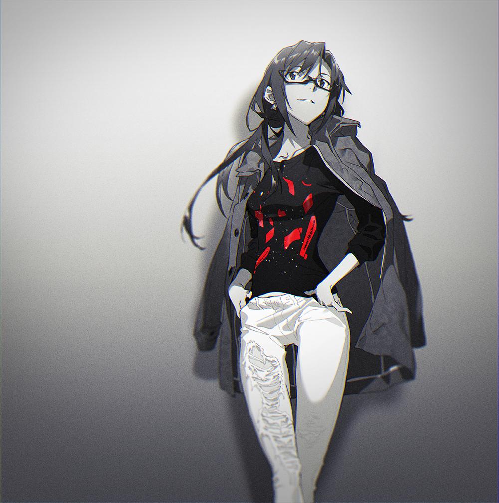 闇夜カットソー (初号機覚醒モデル)