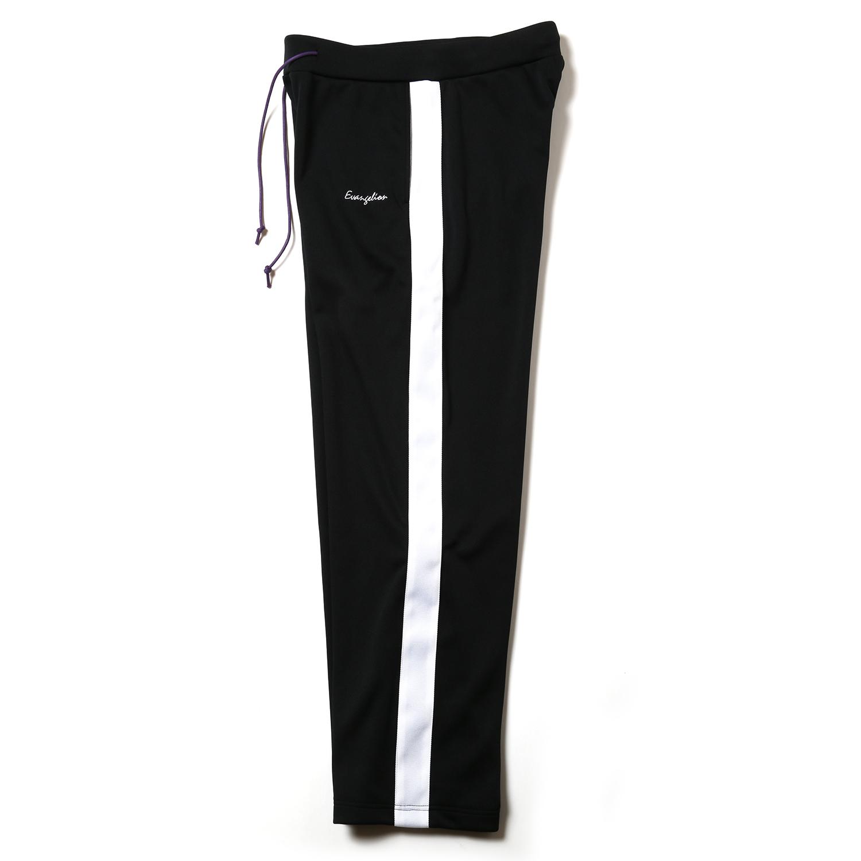 EVANGELION LINE PANTS (ブラック×ホワイト)