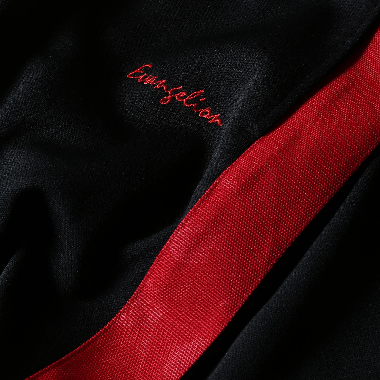 EVANGELION LINE PANTS (ブラック×レッド)