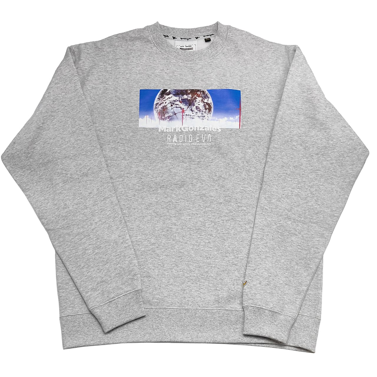 Human Mind Print Sweatshirt by MARK GONZALES (杢GRAY)