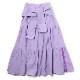 Flower Tiered Skirt (PURPLE)