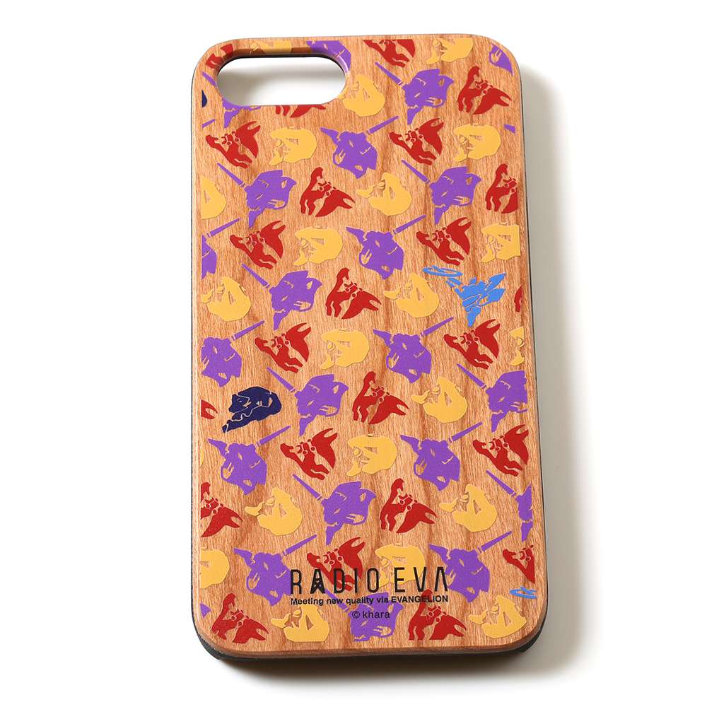 EVANGELION iPhone7Plus/8Plus WOODCASE by Gizmobies (モノグラム)