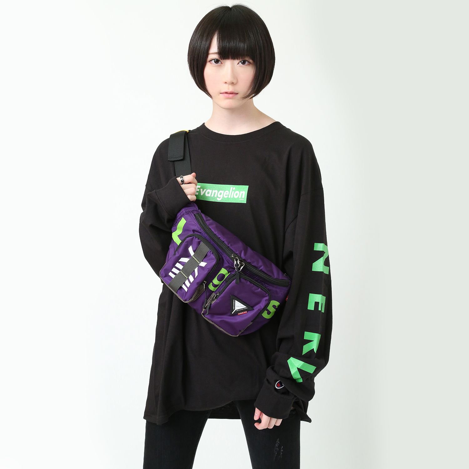 EVANGELION ABOVE WAIST POUCH by FIRE FIRST (EVA-13 MDOEL)