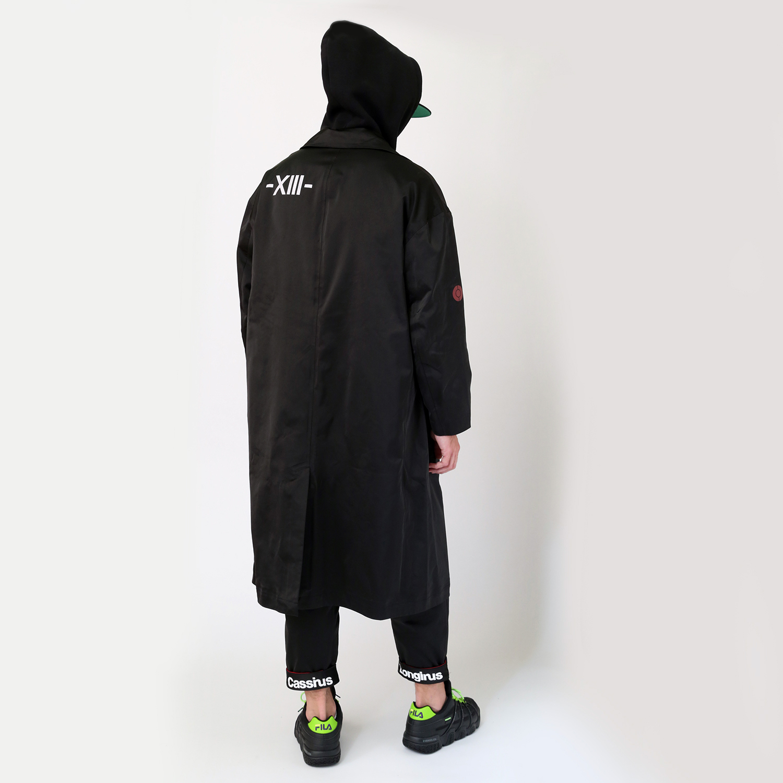 EVANGELION XIII Nylon Coat (ブラック)
