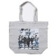 RADIO EVA Illustration Tote Bag β(Mai Yoneyama)(LIGHT GRAY)
