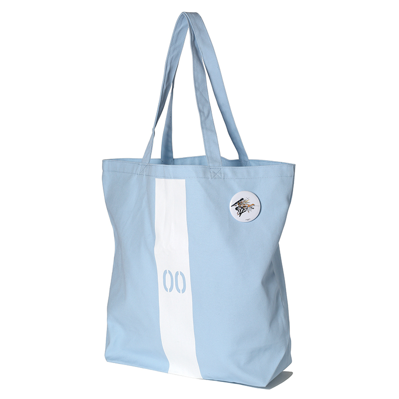 EVANGELION Numbering Tote Bag (ライトブルー(レイ))