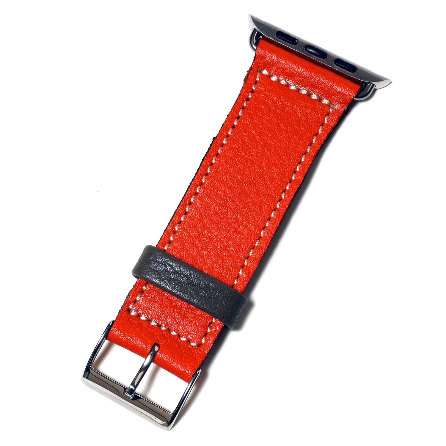 EVANGELION Apple Watch Leather Band (ASUKA MDOEL)