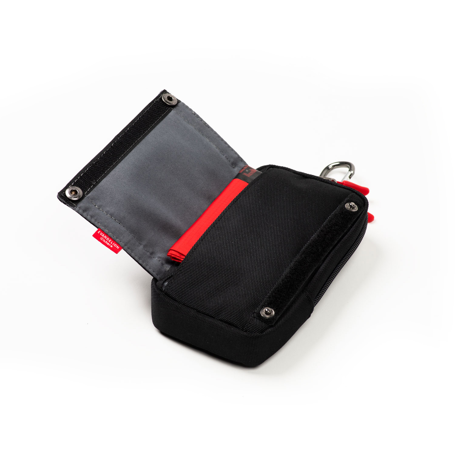 EVA GADGET POUCH by FIRE FIRST (BLACK(NERV))