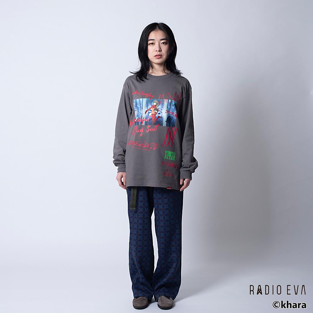 Asuka Langley Shikinami-Test Plug Suit L/S Tee (CHACOAL)