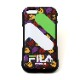 FILA × EVANGELION iPhone SE2 CASE (MONOGRAM(BLACK))