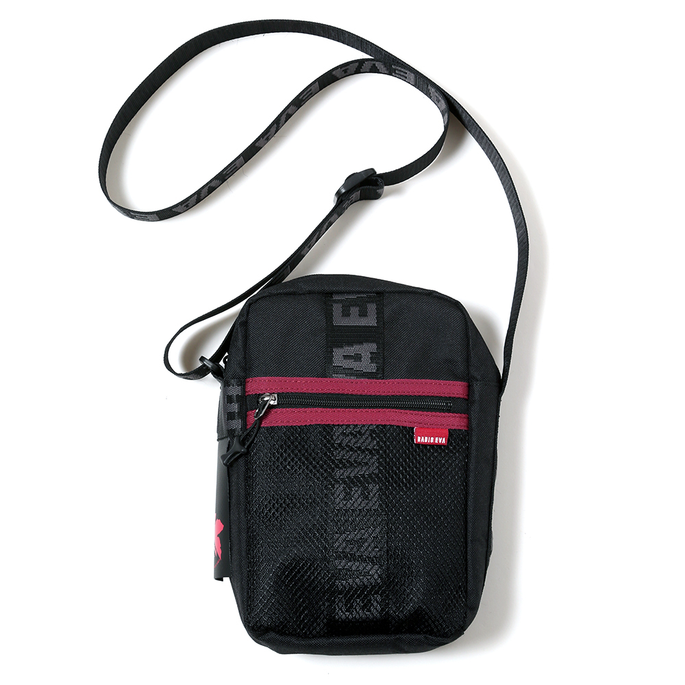 EVANGELION MINI SHOULDER BAG by FIRE FIRST (BLACK(NERV))