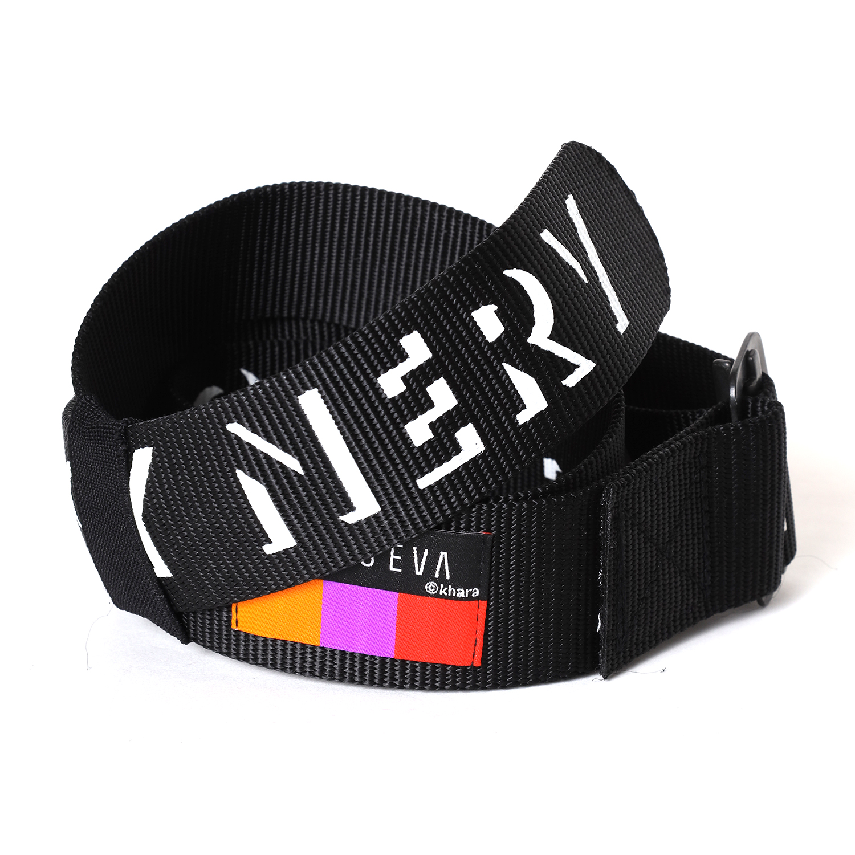 NERV ARMY LOGO BELT β (BLACK)