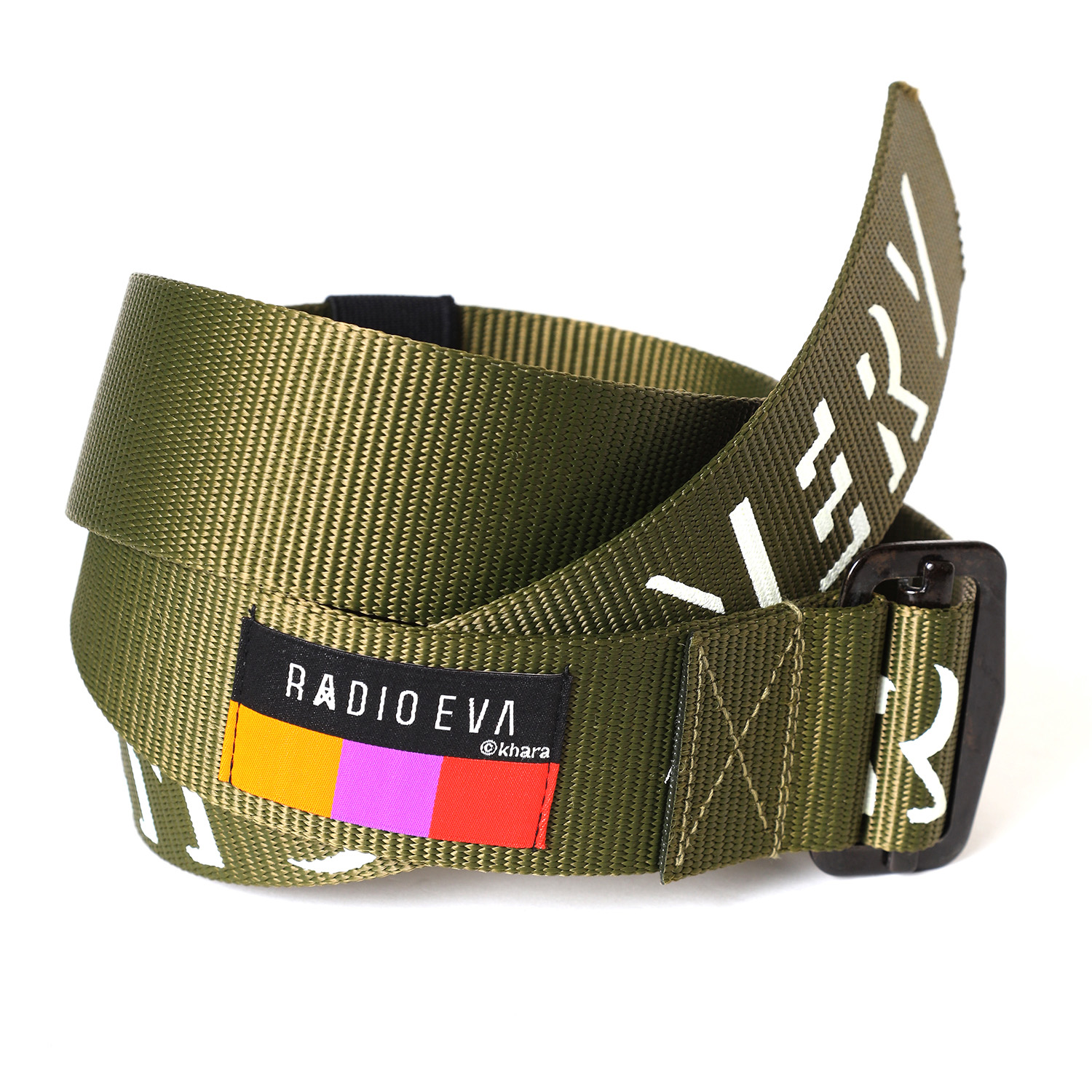 NERV ARMY LOGO BELT β (OLIVE)