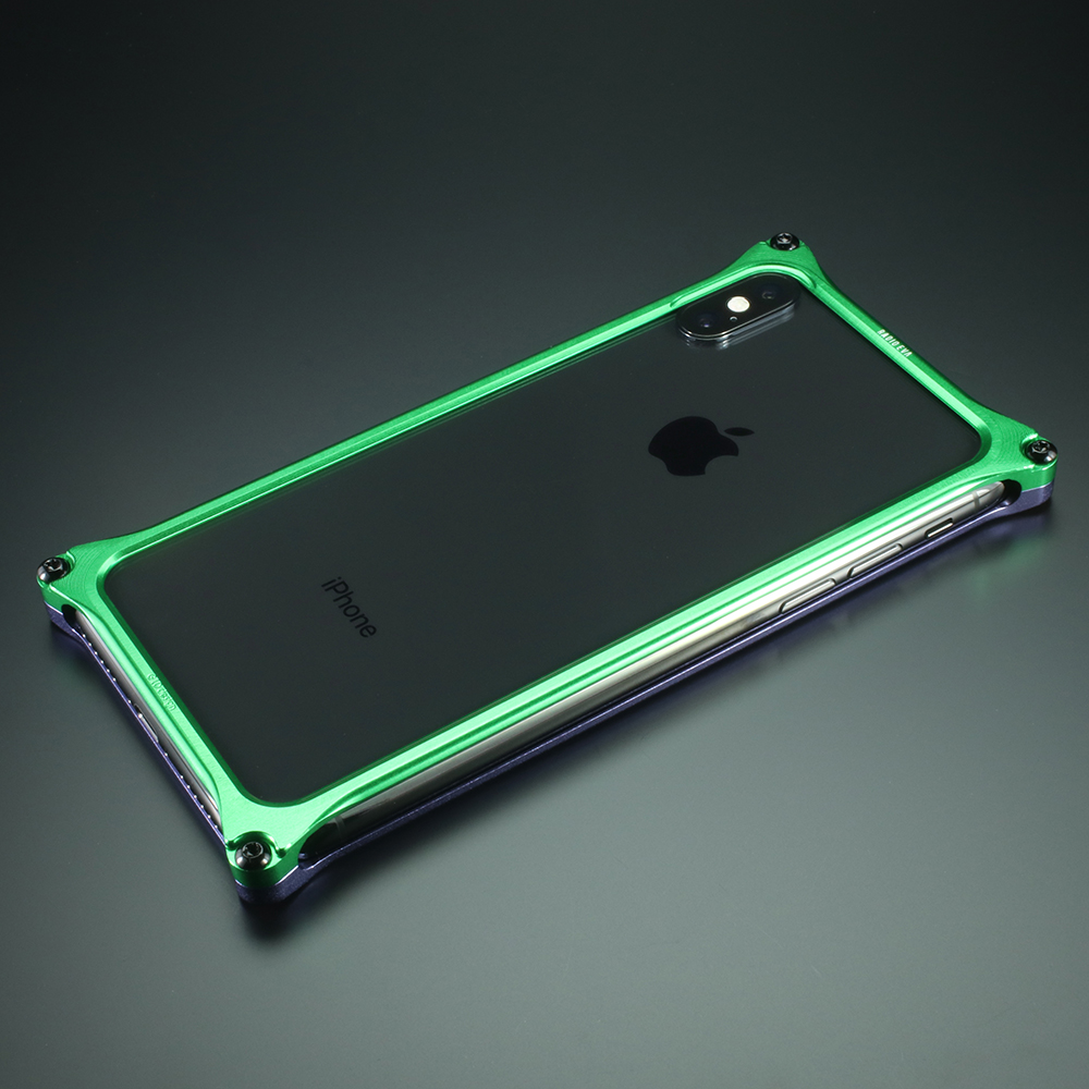 Solid Bumper for iPhone12/12pro (EVANGELION Limited) (Purple×Green(初号機))