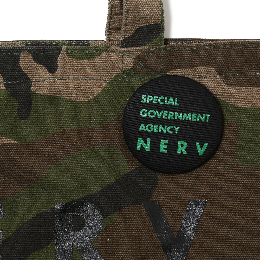 NERV Camouflage Lunch Bag (ウッドランド)