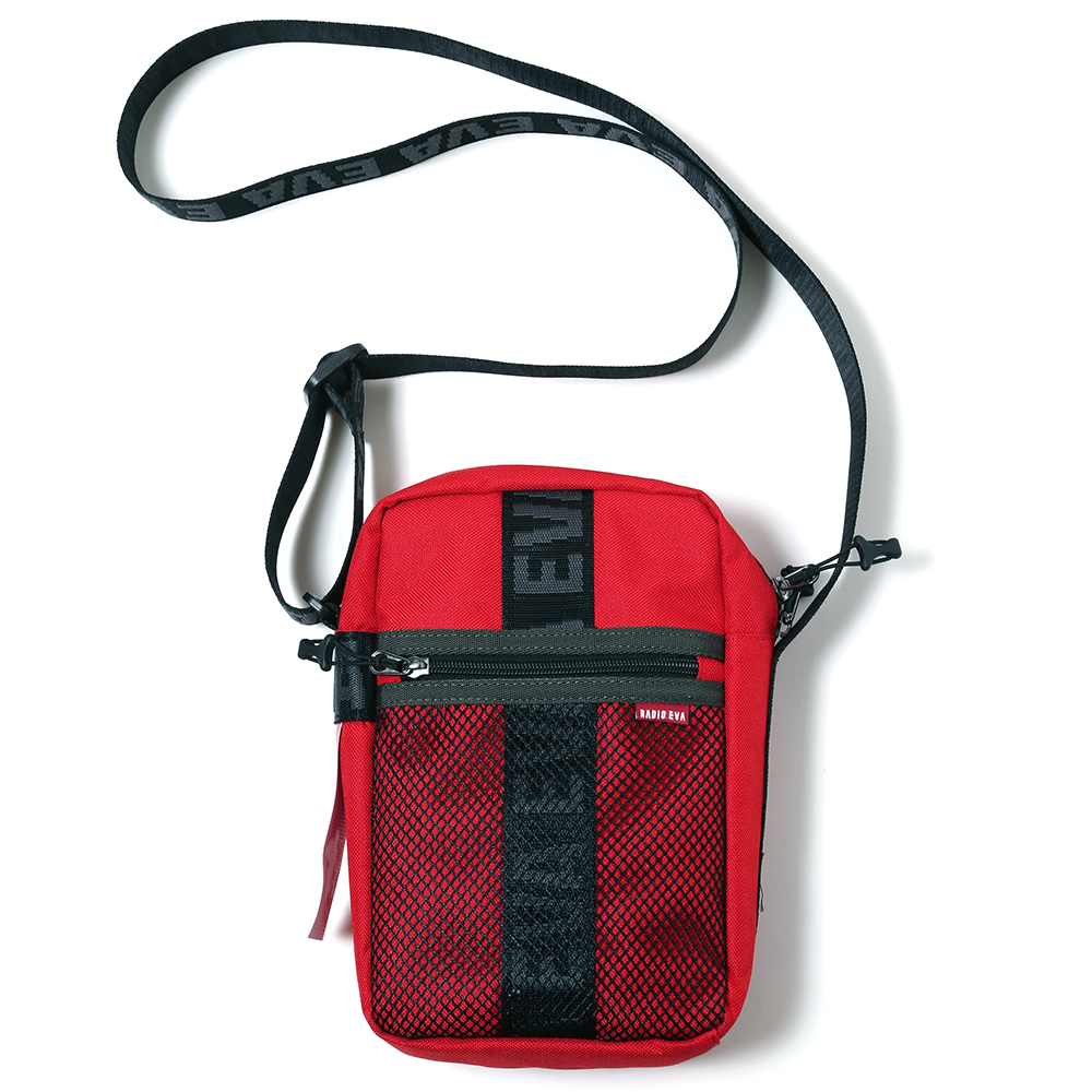 EVANGELION MINI SHOULDER BAG by FIRE FIRST (RED(ASUKA))