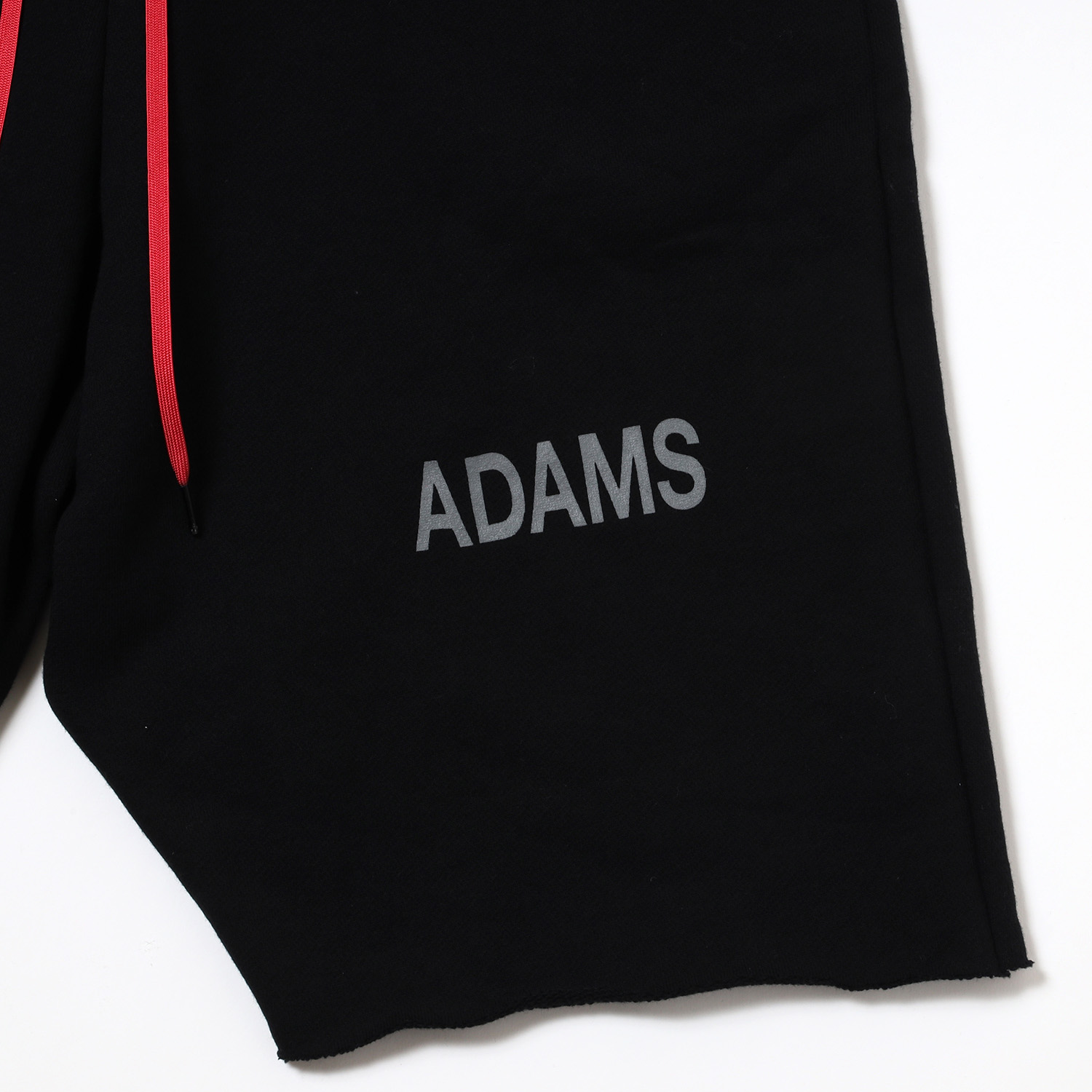 ADAMS Saruel Sweat Short Pants (BLACK)