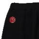 ADAMS Saruel Sweat Short Pants (BLACK)