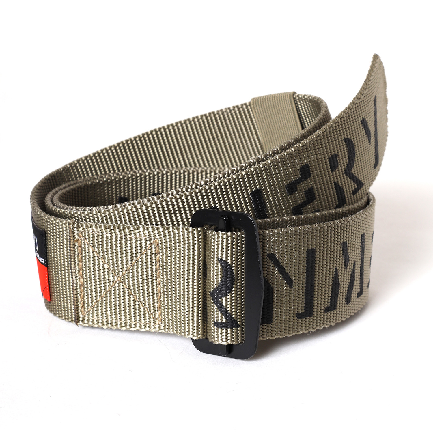 NERV ARMY LOGO BELT β (KHAKI)