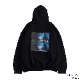 Ayanami (Why don't you just try smiling?) PULL PARKA (BLACK)