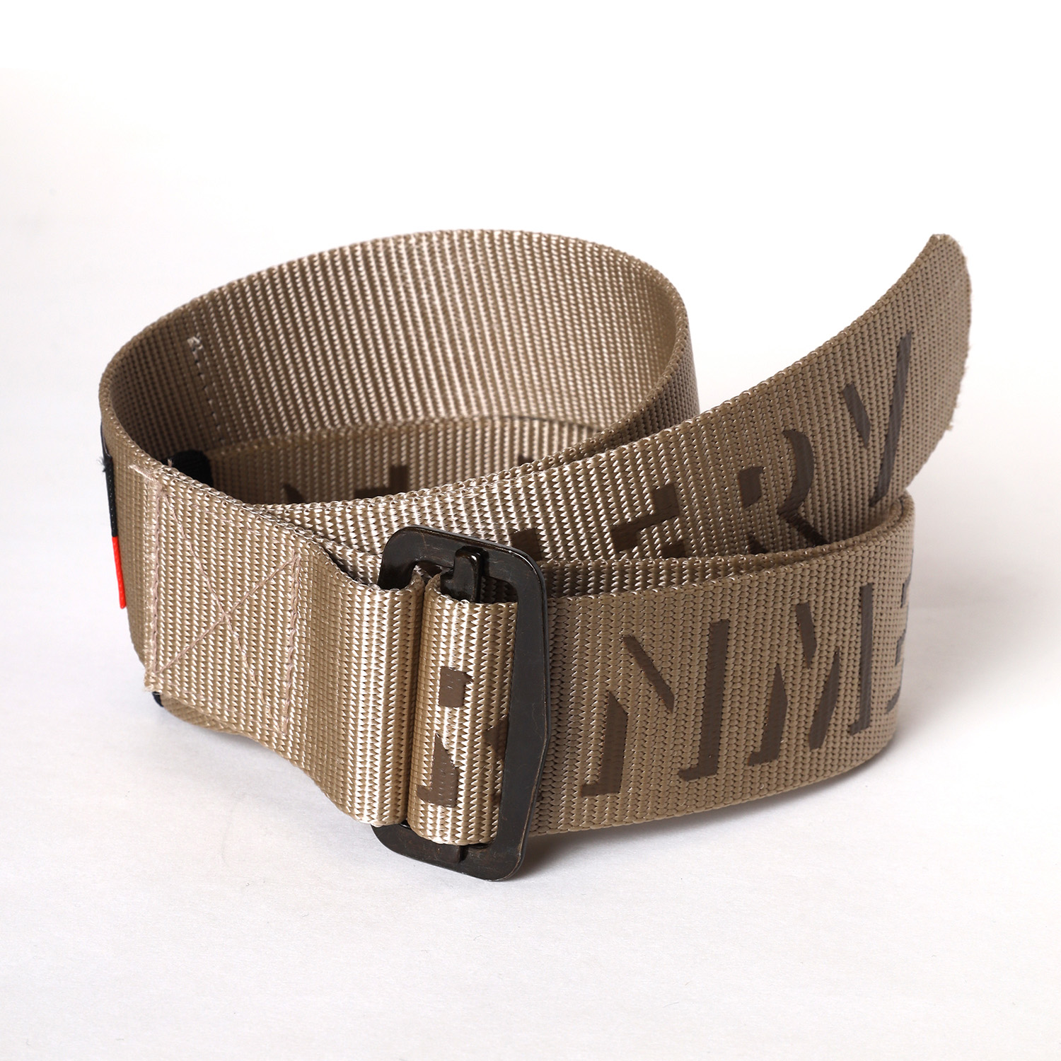 NERV ARMY LOGO BELT β (COYOTE BROWN)