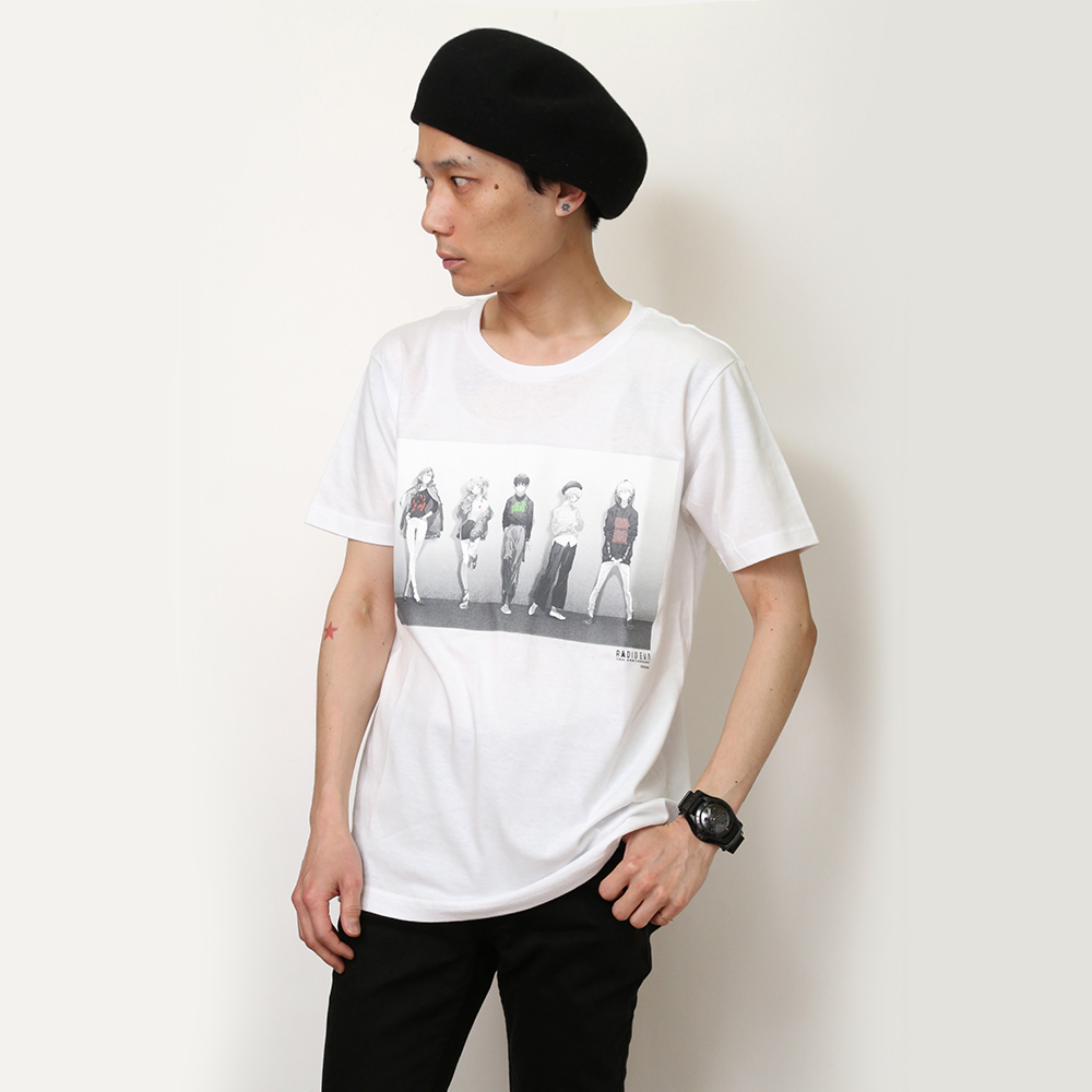 RADIO EVA 10TH ANNIVERSARY T-Shirt (ホワイト)