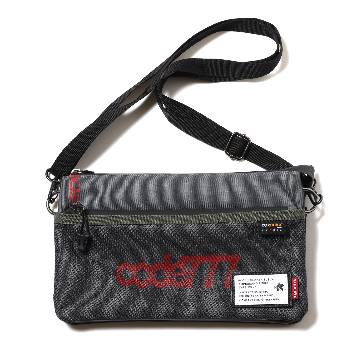 EVANGELION SACOCHE BAG by FIRE FIRST (THE BEAST MODEL)