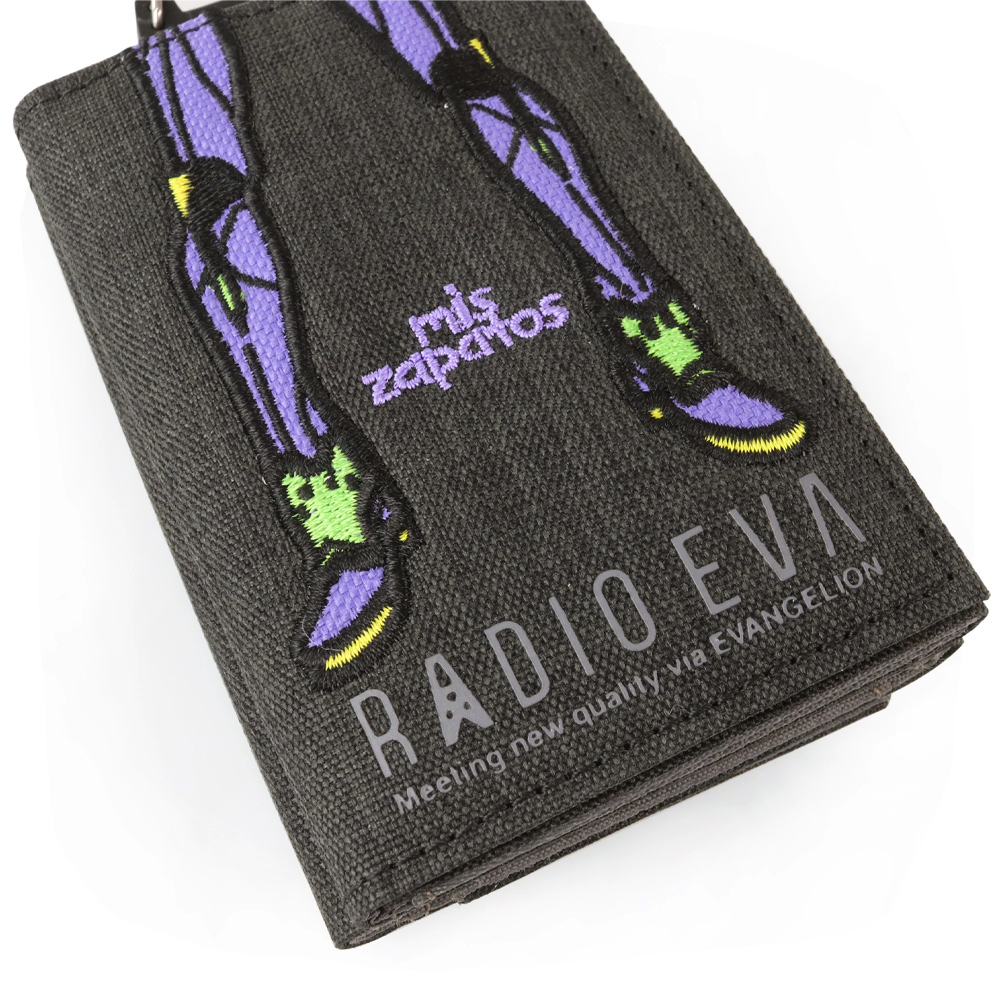 EVANGELION Mini Wallet by mis zapatos (BLACK(初号機))