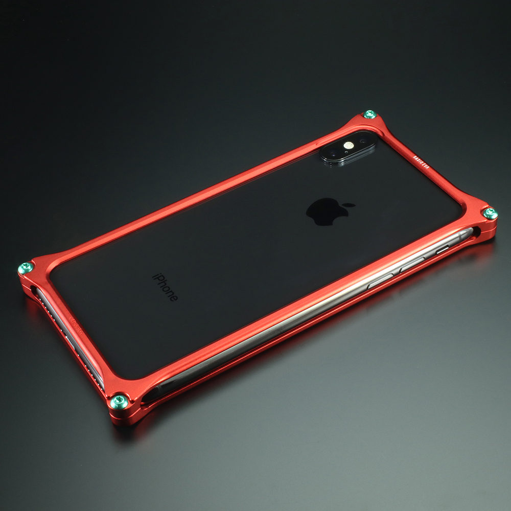 Solid Bumper for iPhone12/12pro (RADIO EVA Limited) (Matte RED(式波・アスカ・ラングレー))