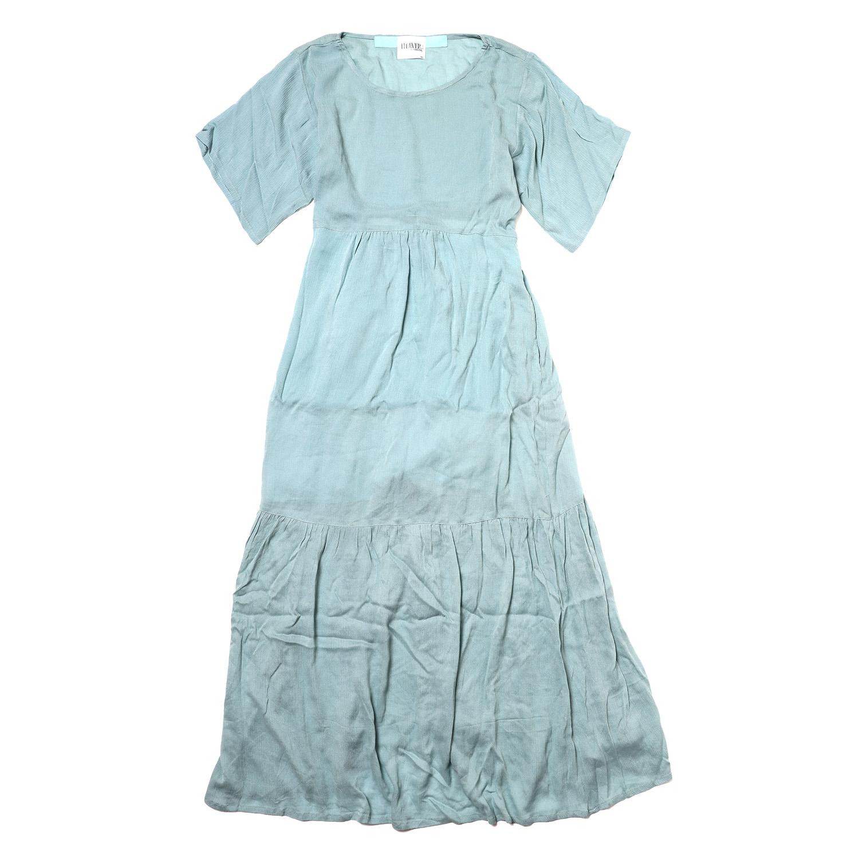 EVANGELION Cotton Crepe Dress (BLUE)