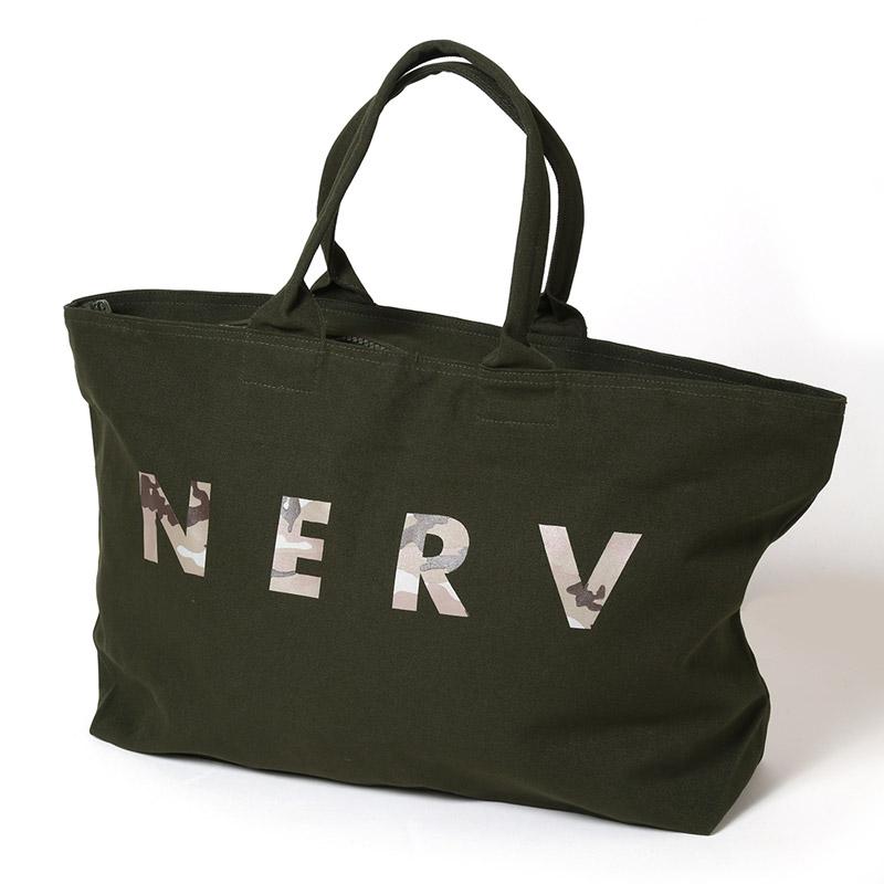 NERV EVERYDAY BAG (オリーブ×カモフラージュ)