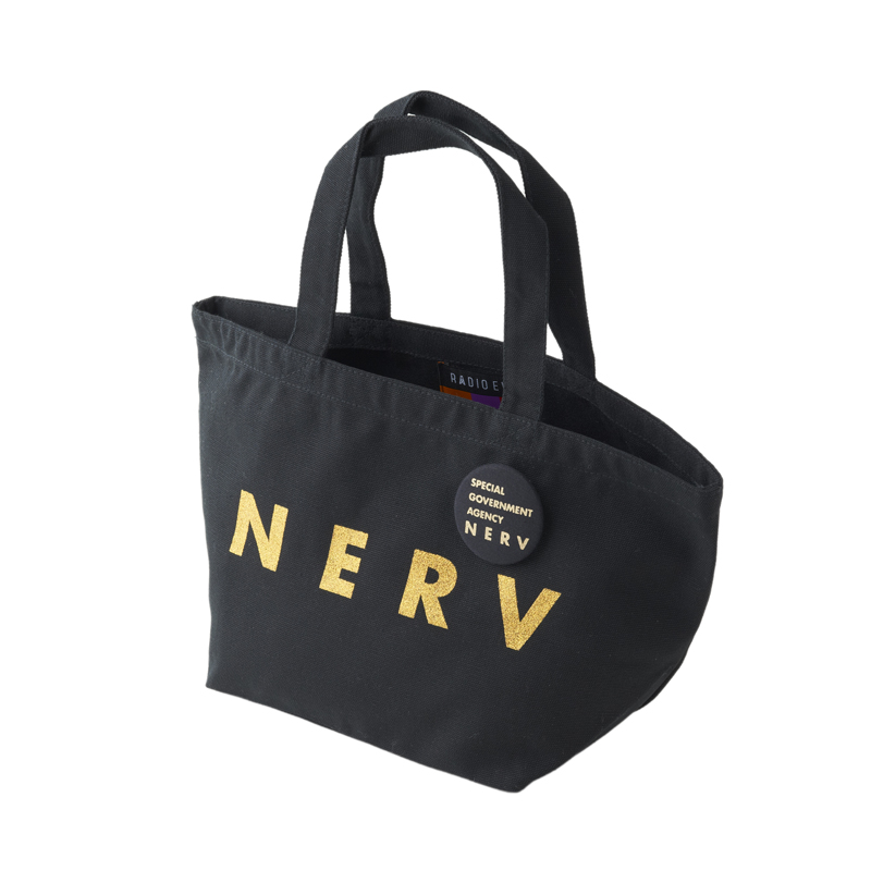 NERV Lunch Bag (ブラック×ゴールド)