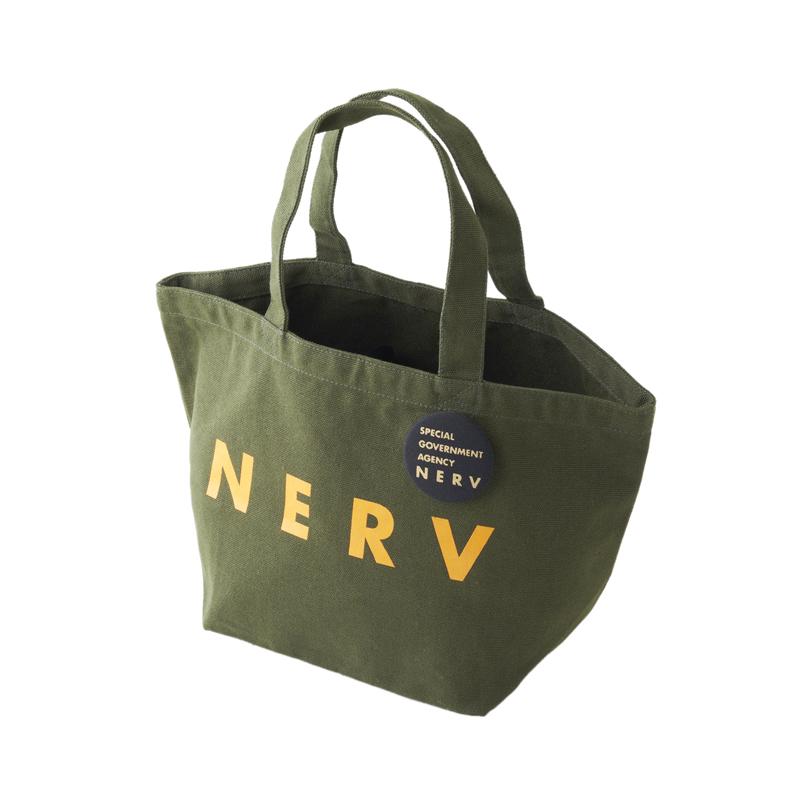 NERV Lunch Bag (オリーブ×オレンジBG)