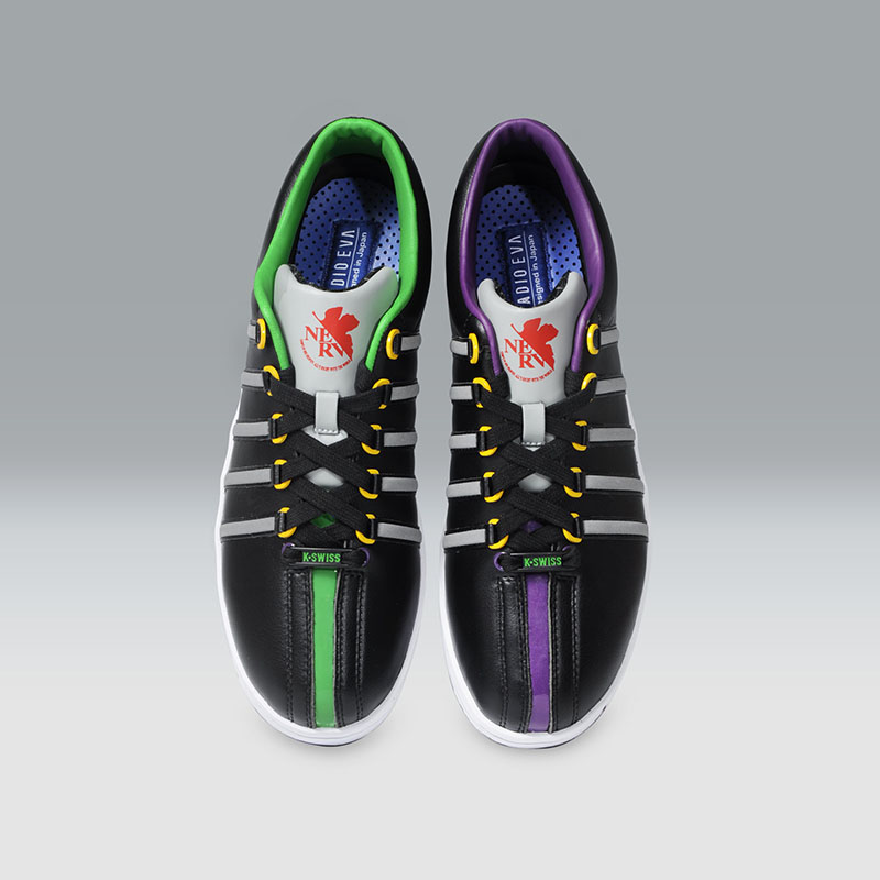 K・SWISS THE CLASSIC (EVANGELION Limited)  (Test Type 01 B[ブラック])