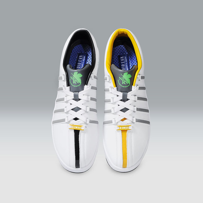 K・SWISS THE CLASSIC (EVANGELION Limited)  (Prototype 00 [ホワイト])