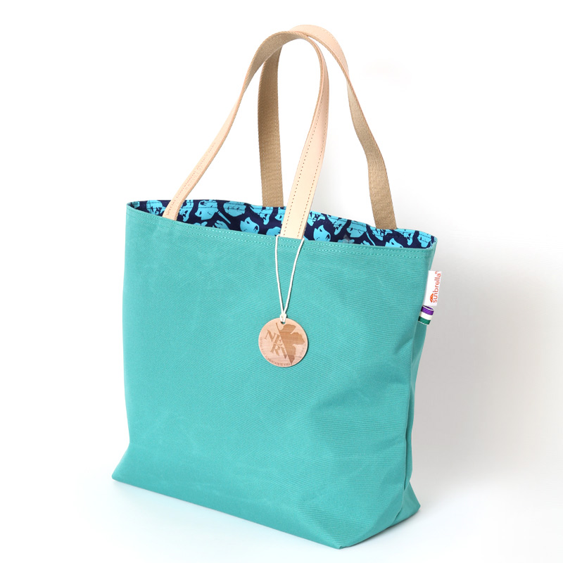 2FACES EVA SUMBRELLA TOTE BAG (AQUA MARINE)