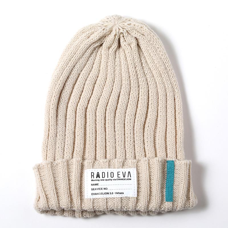 EVA Rib Knit Cap (ナチュラル)