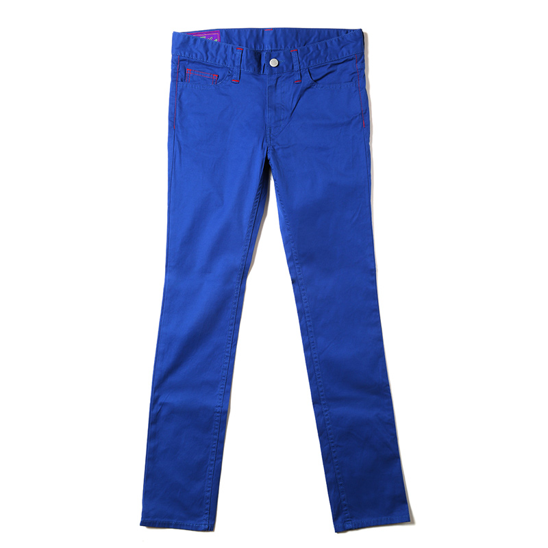 EVA Skinny Stretch Pants (ブルー)