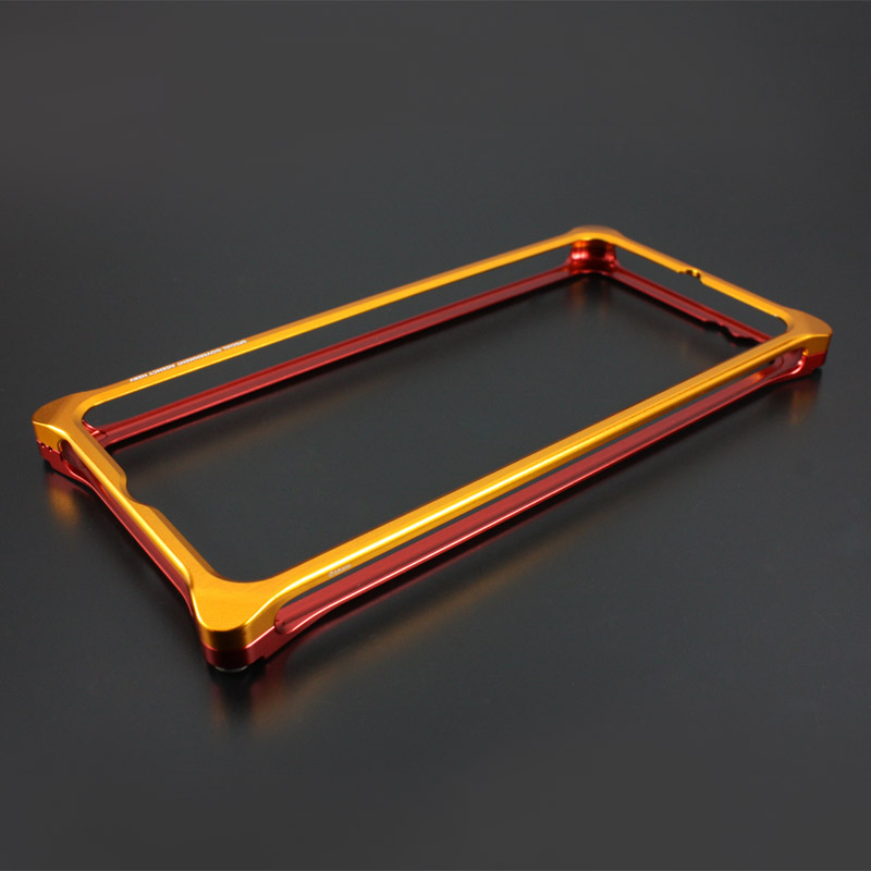 Solid Bumper for iPhone6/6s (EVANGELION Limited) (Yellow×Red)