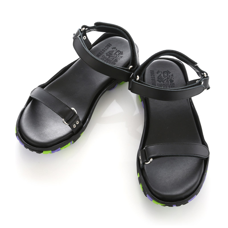 EVA LEATHER STRAP SANDAL by FACTOTUM×Fobs (初号機モデル)