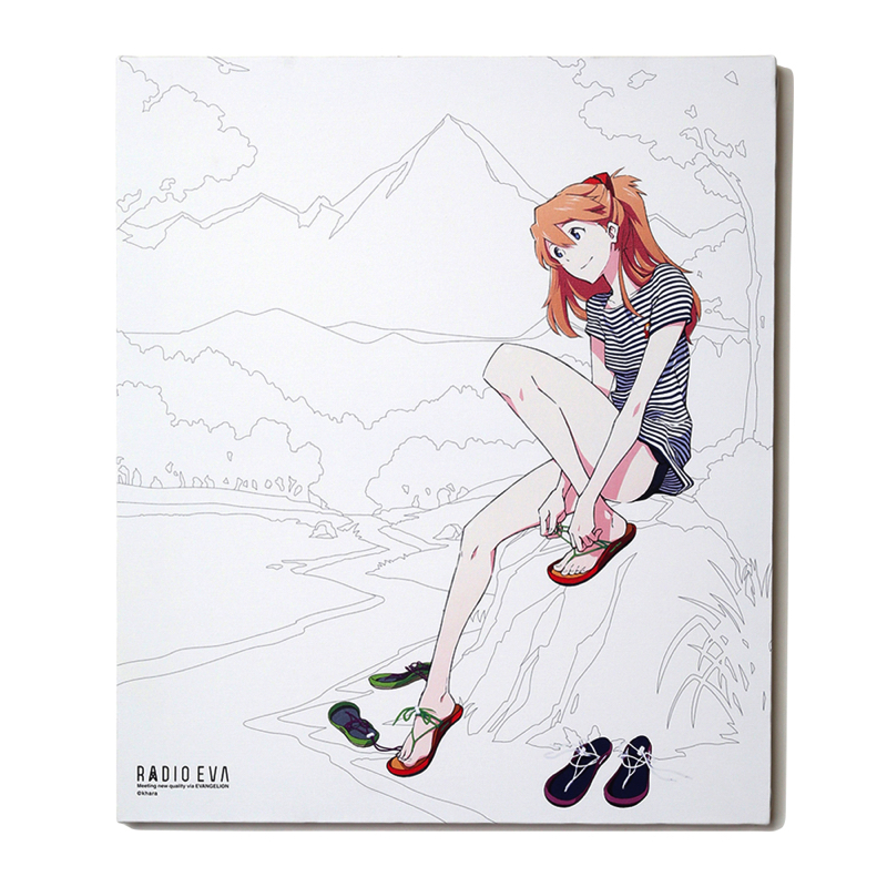 EVA Canvas Art (illustration) (アスカ(CHASKI))
