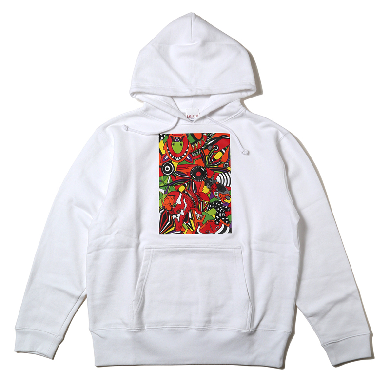 EVA Abstract Art Parka (2号機(ホワイト))