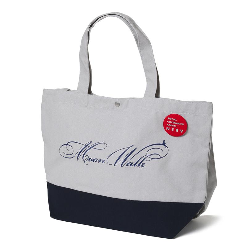 Moon Walk bicolor 2Way Tote Bag(グレー)