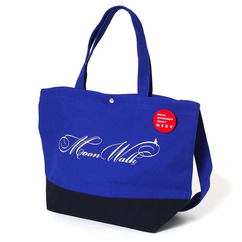 Moon Walk bicolor 2Way Tote Bag(ブルー)