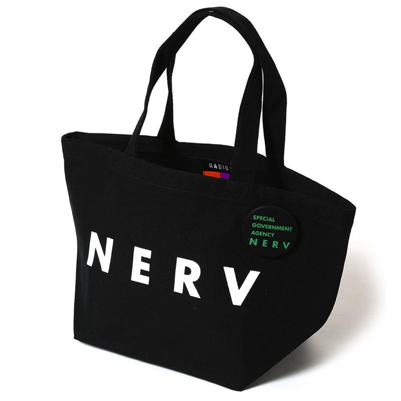 NERV New Lunch Bag (ブラック×ホワイト)
